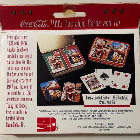 Pack of 15 Coca-Cola Christmas Cards